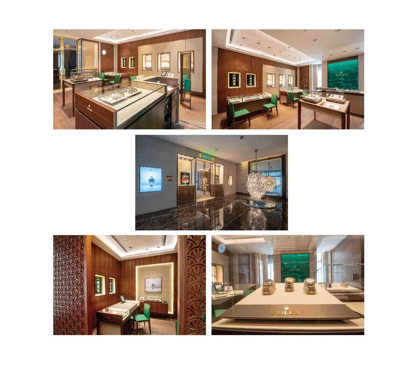 Khimji's Watches Rolex Showroom in India